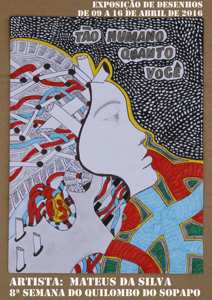 cartaz exposição mateus